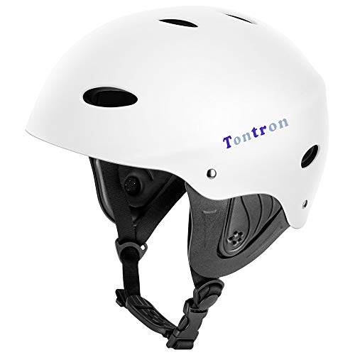 ウォーターヘルメット 安全 マリンスポーツ サーフィン ウェイクボード Tontron Water Helmet(Matte White Pearl,Large)ウォーターヘルメット 安全 マリンスポーツ サーフィン ウェイクボード