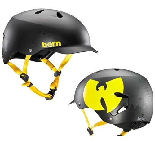ヘルメット スケボー スケートボード 海外モデル 直輸入 VM5EWUT2X3X Bern Unlimited Watts EPS Summer Helmet (Wutang Matte Black, XXL/3XL)ヘルメット スケボー スケートボード 海外モデル 直輸入 VM5EWUT2X3X