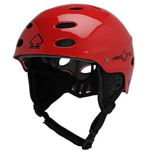 ウォーターヘルメット 安全 マリンスポーツ サーフィン ウェイクボード 200004902 Pro-Tec Ace Wake Helmet, Gloss Red, XSウォーターヘルメット 安全 マリンスポーツ サーフィン ウェイクボード 200004902