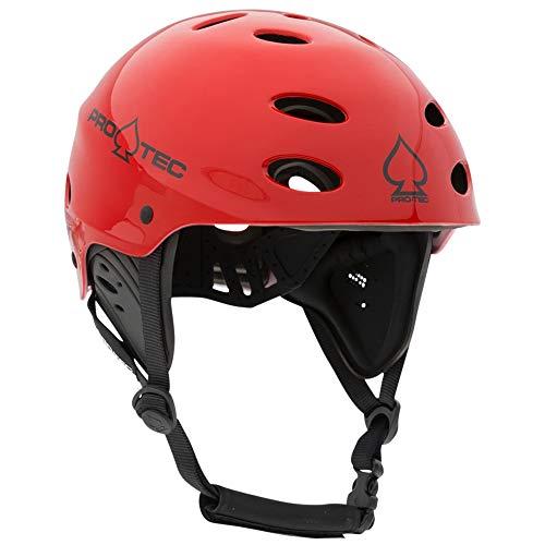 ウォーターヘルメット 安全 マリンスポーツ サーフィン ウェイクボード 200004904 Pro-Tec Ace Wake Helmet, Gloss Red, Mウォーターヘルメット 安全 マリンスポーツ サーフィン ウェイクボード 200004904