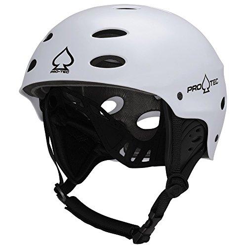 ウォーターヘルメット 安全 マリンスポーツ サーフィン ウェイクボード 200005204 【送料無料】Pro-Tec Ace Wake Helmet, Satin White, Mウォーターヘルメット 安全 マリンスポーツ サーフィン ウェイクボード 200005204