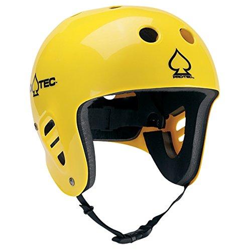 ウォーターヘルメット 安全 マリンスポーツ サーフィン ウェイクボード 118133505 PROTEC Original Pro-tec The Full Cut Water Helmet, Gloss Yellow, Largeウォーターヘルメット 安全 マリンスポーツ サーフィン ウェイクボード 118133505