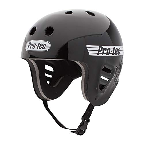 ウォーターヘルメット 安全 マリンスポーツ Pro-Tec 安全 サーフィン ウェイクボード 118130005 Pro-Tec Full 安全 Cut Water Helmet, Gloss Black, Lウォーターヘルメット 安全 マリンスポーツ サーフィン ウェイクボード 118130005, モダン漆器  atakaya:76171bc0 --- infinnate.ro