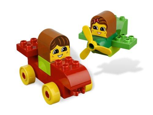 レゴ デュプロ 4654152 LEGO DUPLO Read & Build, Let's Go! Vroom (6760)レゴ デュプロ 4654152