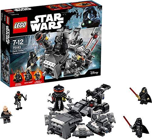 <セール&特集> 無料ラッピングでプレゼントや贈り物にも 逆輸入並行輸入送料込 レゴ スターウォーズ 75183 送料無料 Vader ストアー Darth Toyレゴ Transformation Construction LEGO