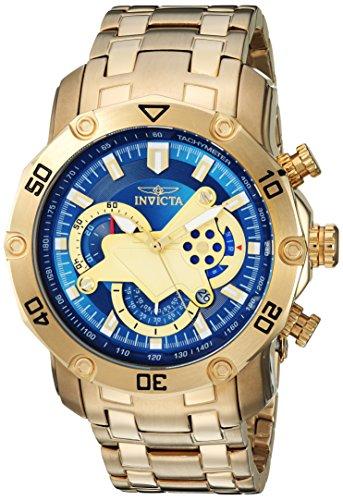 腕時計 インヴィクタ インビクタ プロダイバー メンズ 22765 【送料無料】Invicta Men's Pro Diver Quartz Watch with Stainless-Steel Strap, Gold, 26 (Model: 22765)腕時計 インヴィクタ インビクタ プロダイバー メンズ 22765