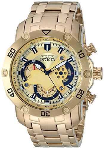 腕時計 インヴィクタ インビクタ プロダイバー メンズ 22761 【送料無料】Invicta Men's Pro Diver Quartz Watch with Stainless-Steel Strap, Gold, 26.1 (Model: 22761)腕時計 インヴィクタ インビクタ プロダイバー メンズ 22761
