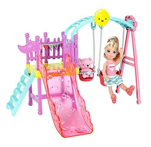 新しく着き 【送料無料】バービー【送料無料】バービー Barbie Barbie クラブ ベルシースウィングセット ベルシースウィングセット ブランコ 2つのブランコ チェルシー人形, 甘栗太郎:d70a17fb --- promotime.lt
