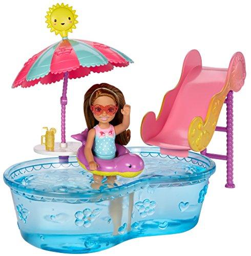 有名な高級ブランド バービー & バービー人形 チェルシー スキッパー ステイシー ステイシー バービー人形 DWJ47【送料無料】Barbie Club Chelsea Pool & Water Slide Playsetバービー バービー人形 チェルシー スキッパー ステイシー DWJ47, ASPO アスリート:843df768 --- promotime.lt