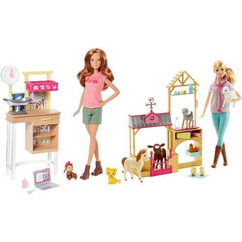 バービー バービー人形 日本未発売 プレイセット アクセサリ Barbie Animal Caretaker Bundleバービー バービー人形 日本未発売 プレイセット アクセサリ