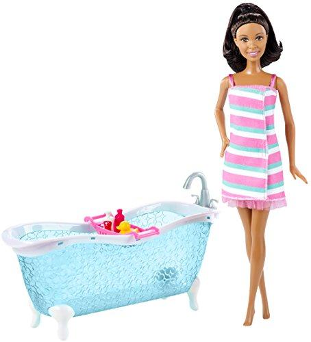 バービー バービー人形 日本未発売 プレイセット アクセサリ DFV69 Barbie Doll and Bathtub Playset, Brunetteバービー バービー人形 日本未発売 プレイセット アクセサリ DFV69