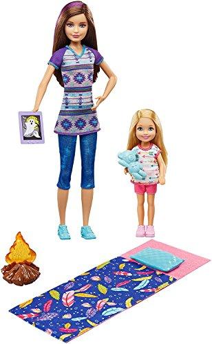 バービー バービー人形 チェルシー スキッパー ステイシー 【送料無料】Barbie Camping Fun Skipper and Chelseaバービー バービー人形 チェルシー スキッパー ステイシー