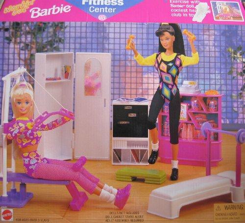 【送料関税無料】 バービー 日本未発売 プレイセット バービー人形 日本未発売 67657 プレイセット アクセサリ 67657 Workin' Out Barbie FITNESS CENTER Playset (1997 Arcotoys, Mattel)バービー バービー人形 日本未発売 プレイセット アクセサリ 67657, 激安家電販売 PCあきんど楽市店:56099801 --- canoncity.azurewebsites.net
