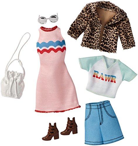 バービー バービー人形 着せ替え 衣装 ドレス FBB81 【送料無料】Barbie Fashions Chic Packバービー バービー人形 着せ替え 衣装 ドレス FBB81