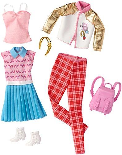 バービー バービー人形 着せ替え 衣装 ドレス FBB79 【送料無料】Barbie Fashions School Packバービー バービー人形 着せ替え 衣装 ドレス FBB79