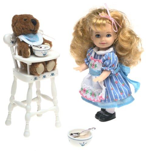 <title>無料ラッピングでプレゼントや贈り物にも 逆輸入並行輸入送料込 バービー バービー人形 チェルシー スキッパー ステイシー 28535 送料無料 Barbie Goldilocks and the Three Bears Kelly Storybook 開催中 Collectibleバービー</title>