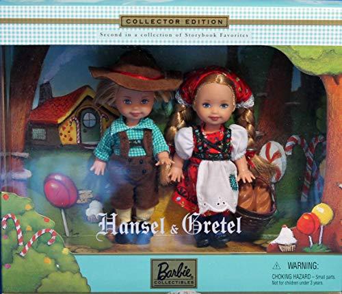 バービー バービー人形 チェルシー スキッパー ステイシー 【送料無料】Barbie Kelly & Tommy Hansel & Gretel Storybook Collector Setバービー バービー人形 チェルシー スキッパー ステイシー