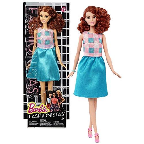 価格は安く バービー バービー人形 ファッショニスタ Doll 日本未発売 Mattel Year (DMF31) 2015 Barbie Teal Fashionistas 12-1/2