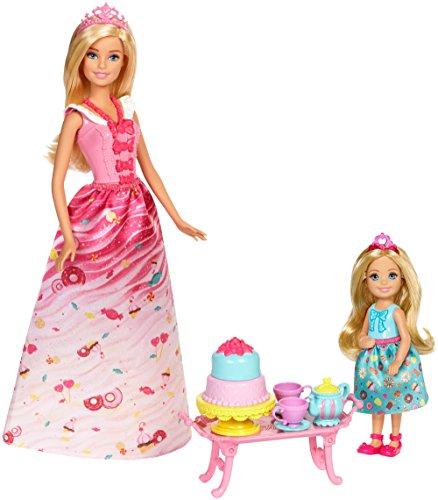 バービー バービー人形 ファンタジー 人魚 マーメイド FDJ19 【送料無料】Barbie Dreamtopia Sweetville Kingdom Princess Tea Partyバービー バービー人形 ファンタジー 人魚 マーメイド FDJ19