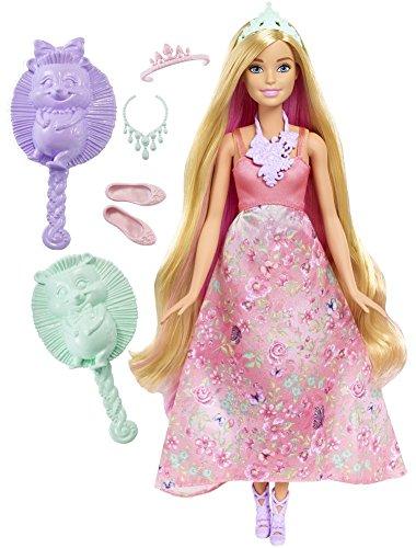 バービー バービー人形 ファンタジー 人魚 マーメイド DWH42 【送料無料】Barbie Dreamtopia Color Stylin' Princess Doll, Pinkバービー バービー人形 ファンタジー 人魚 マーメイド DWH42
