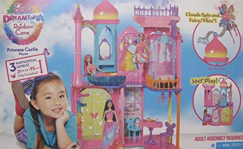 【送料無料キャンペーン?】 バービー SHIPPER バービー人形 ファンタジー BOX 人魚 マーメイド BARBIE Dreamtopia RAINBOW COVE LEVELS PRINCESS CASTLE Playset is FULLY FURNISHED w 3 LEVELS & 3+ FEET Tall & SHIPPER BOX (2015)バービー バービー人形 ファンタジー 人魚 マーメイド, シズナイグン:655eb89b --- canoncity.azurewebsites.net