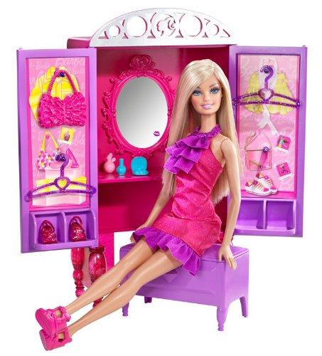 バービー バービー人形 日本未発売 プレイセット アクセサリ T7183 【送料無料】Barbie Dress-Up To Make-Up Closet and Barbie Doll Setバービー バービー人形 日本未発売 プレイセット アクセサリ T7183