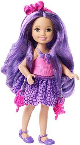 バービー バービー人形 チェルシー スキッパー ステイシー DKB58 Barbie Endless Hair Kingdom Chelsea Doll, Purpleバービー バービー人形 チェルシー スキッパー ステイシー DKB58