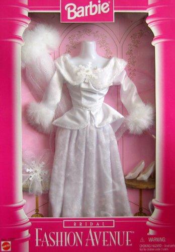 バービー バービー人形 着せ替え 衣装 ドレス Asst. 15897 Barbie BRIDAL Fashion Avenue WEDDING FASHIONS Outfit w FAUX FUR (1996)バービー バービー人形 着せ替え 衣装 ドレス Asst. 15897