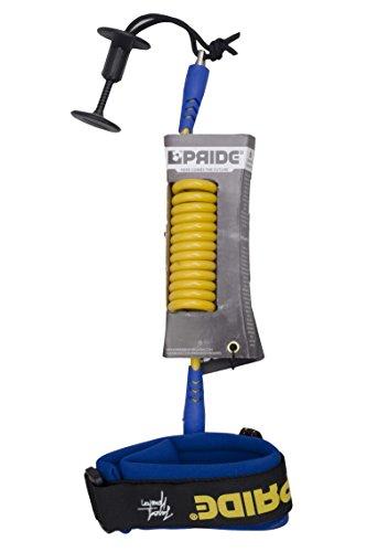 サーフィン リーシュコード マリンスポーツ Pride Bodyboards Bicep Leash - Jared Houston Signature (Spectra yellow / Blue)サーフィン リーシュコード マリンスポーツ