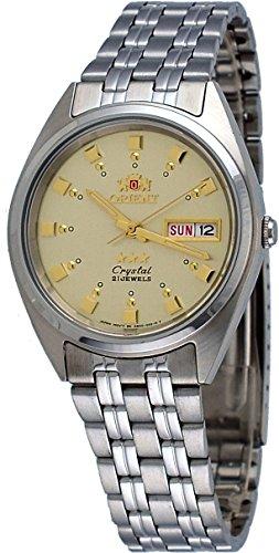 オリエント 腕時計 メンズ FAB00009C Orient #FAB00009C Men's 3 Star Stainless Steel Gold Dial Self Wind Automatic Watchオリエント 腕時計 メンズ FAB00009C
