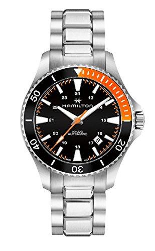 腕時計 ハミルトン メンズ 【送料無料】Hamilton H82305131 Silver 40mm Stainless-Steel Khaki Navy Scuba Auto Mens Watch腕時計 ハミルトン メンズ