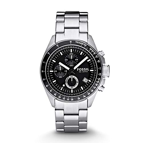 フォッシル 腕時計 メンズ CH2600IE 【送料無料】Fossil Men's Decker Analog-Quartz Watch with Stainless-Steel Strap, Silver, 22 (Model: CH2600IE)フォッシル 腕時計 メンズ CH2600IE