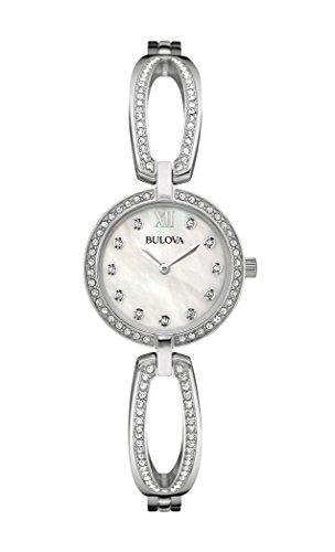 ブローバ 腕時計 レディース 96L223 Bulova Women's 96L223 Swarovski Crystal Stainless Steel Watchブローバ 腕時計 レディース 96L223