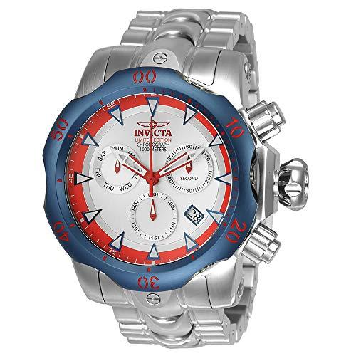 インヴィクタ インビクタ ベノム 腕時計 メンズ 24246 【送料無料】Invicta Men's Venom Quartz Watch with Stainless-Steel Strap, Silver, 26 (Model: 24246)インヴィクタ インビクタ ベノム 腕時計 メンズ 24246