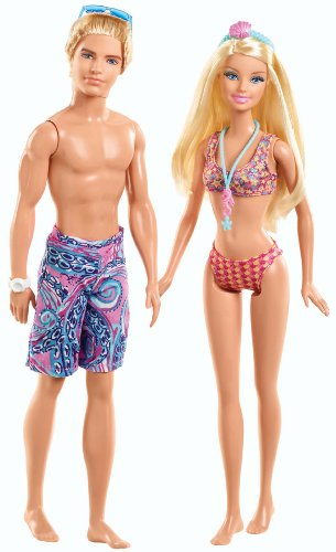バービー バービー人形 ケン Ken BCB24 Barbie and Ken Beach Doll Giftset, 2-Packバービー バービー人形 ケン Ken BCB24