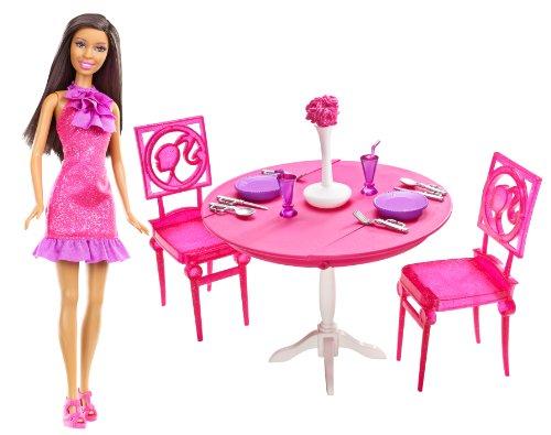 バービー バービー人形 日本未発売 プレイセット アクセサリ X4934 【送料無料】Barbie Doll & Dining Room Gift Set, Brunetteバービー バービー人形 日本未発売 プレイセット アクセサリ X4934