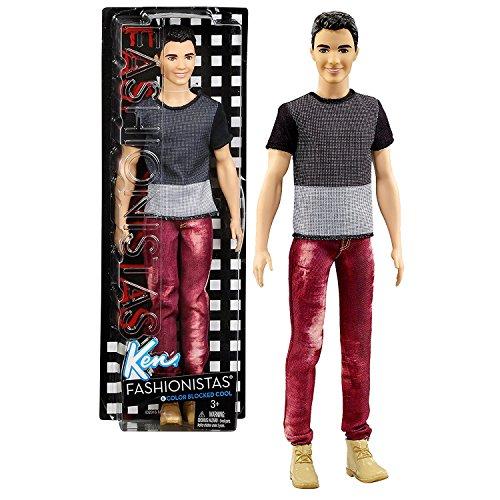 日本初の バービー バービー人形 ファッショニスタ 日本未発売 Mattel Black Year 2016 Barbie Blocked Ken in Fashionistas 12 Inch Doll - RYAN (DWK47) in Cool Color Blocked Black & Grey Shirt and Red Denim Pantsバービー バービー人形 ファッショニスタ 日本未発売, トミヤマチ:42cbd34a --- canoncity.azurewebsites.net