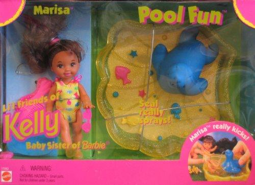バービー バービー人形 チェルシー スキッパー ステイシー 17053 Barbie Kelly POOL FUN MARISA Doll Playset - Marisa Li'l Friend of KELLY Doll (1996)バービー バービー人形 チェルシー スキッパー ステイシー 17053