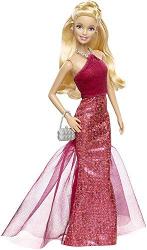 バービー バービー人形 日本未発売 CHH05 Barbie Signature Style Barbie Doll with Red Halter Gownバービー バービー人形 日本未発売 CHH05