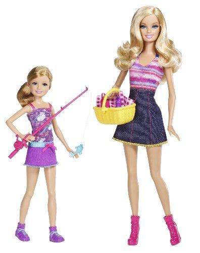 バービー バービー人形 チェルシー スキッパー ステイシー V4396 【送料無料】Barbie Sisters Go Fishing Barbie And Stacie Doll 2-Packバービー バービー人形 チェルシー スキッパー ステイシー V4396