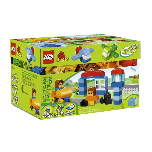 レゴ デュプロ 4654430 Lego Duplo Build and Play Box (4629)レゴ デュプロ 4654430