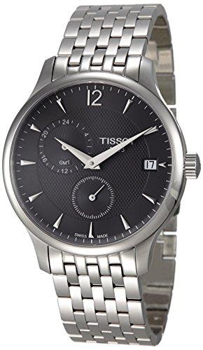 腕時計 ティソ メンズ T063.639.11.067.00 【送料無料】Tissot Tradition GMT Men's watch #T063.639.11.067.00腕時計 ティソ メンズ T063.639.11.067.00