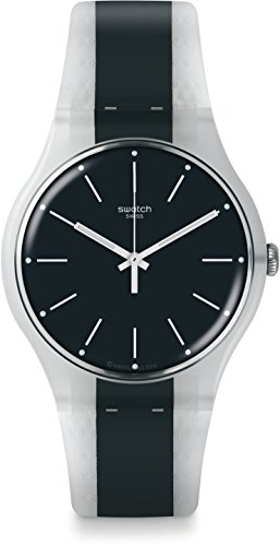 スウォッチ 腕時計 メンズ SUOW142 【送料無料】Swatch Men's Greyline SUOW142 Blue Rubber Swiss Quartz Fashion Watchスウォッチ 腕時計 メンズ SUOW142
