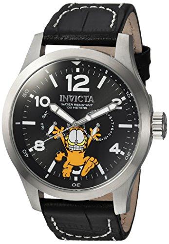 インヴィクタ インビクタ 腕時計 メンズ 24883 Invicta Men's Character Collection Stainless Steel Quartz Watch with Leather Calfskin Strap, Black, 24 (Model: 24883インヴィクタ インビクタ 腕時計 メンズ 24883