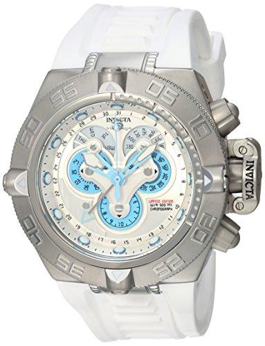 インヴィクタ インビクタ サブアクア 腕時計 メンズ 24098 Invicta Men's Subaqua Stainless Steel Quartz Watch with Silicone Strap, White, 1.25 (Model: 24098)インヴィクタ インビクタ サブアクア 腕時計 メンズ 24098