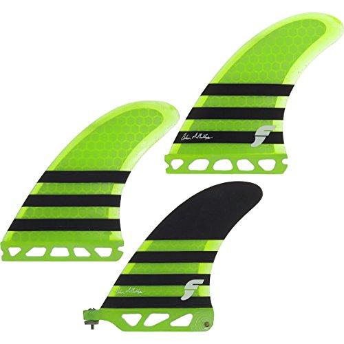 サーフィン フィン マリンスポーツ Futures - Collin/ Green Mcphillips 2+1 Thruster Set - Neon Green/ Blackサーフィン フィン マリンスポーツ, 淡路島の玉ねぎ屋さん:37b376e6 --- sunward.msk.ru