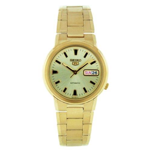 セイコー 腕時計 メンズ SNXE92 Seiko Men's SNXE92 Stainless-Steel Analog with Gold Dial Watchセイコー 腕時計 メンズ SNXE92