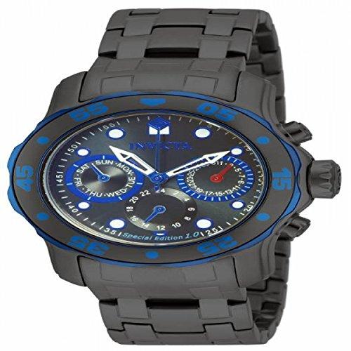 インヴィクタ インビクタ プロダイバー 腕時計 メンズ 15035 【送料無料】Invicta Pro Diver Multi-Function Grey Dial Grey Ion-plated Mens Watch 15035インヴィクタ インビクタ プロダイバー 腕時計 メンズ 15035