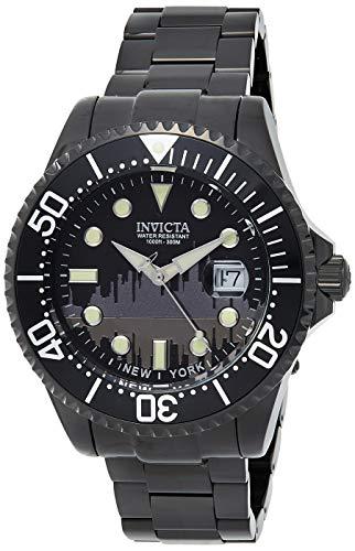 インヴィクタ インビクタ プロダイバー 腕時計 メンズ 90287 Invicta Men's Pro Diver Quartz Watch with Stainless-Steel Strap, Black, 22 (Model: 90287)インヴィクタ インビクタ プロダイバー 腕時計 メンズ 90287