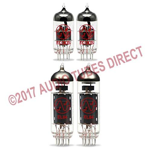 真空管 ギター・ベース アンプ 海外 輸入 EL84 ECC83S JJ Tube Upgrade Kit For Epiphone Electar Tube 30 Combo Amps EL84 ECC83S真空管 ギター・ベース アンプ 海外 輸入 EL84 ECC83S